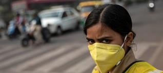 "Dreckige Luft in Indien: ""Lass mich atmen"""