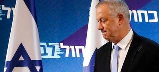 Warum Herausforderer Gantz gegen Netanjahu nicht punkten kann