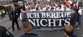 So heftig rechtsradikal war das Jahr 2018 in Deutschland
