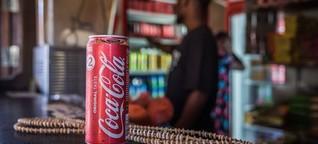 Wo man die Cola mit Muscheln bezahlt