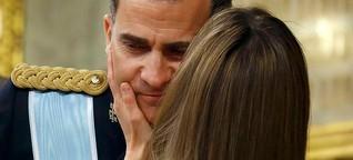 Felipe: vom Prinzen zum König | DW | 19.06.2014