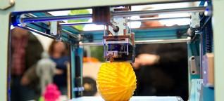 3D-Drucker - Zankapfel des Urheberrechts? | DW | 12.05.2014