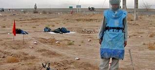 Landminen: Tödliche Falle unter der Erde | DW | 01.03.2014