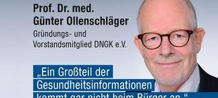 Günter Ollenschläger über zielgruppengenaue Gesundheitskommunikation