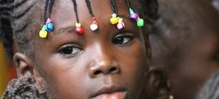 Patenschaften.  30 Euro im Monat für das Mädchen in Burundi