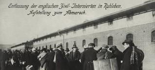 """22.11.1918: Das """"Engländerlager"""" Ruhleben wird aufgelöst"""