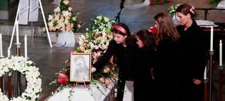 """Beisetzung von Ari Behn (†47): """"Wir lieben dich für immer, Papa"""""""