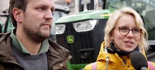 Darum gehen junge Bauern auf die Straße