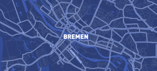 Bremens Straßen: Männer, Blumen und ein paar Nazis