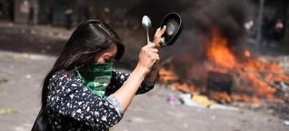 Chiles Wutprobe - Revolution im Tränengas