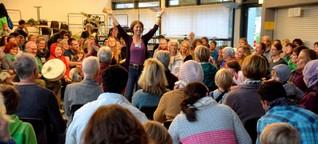 Mit Trommeln die Gemeinschaft und den Selbstwert stärken