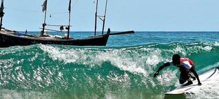 Ghana: eine Goldküste für Wellenreiter