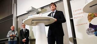 Katalonien: Was macht eigentlich ... Carles Puigdemont?
