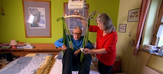 Pflegende Angehörige kämpfen für Entlastung