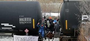 Kanadas Indigene protestieren gegen Gas-Pipeline