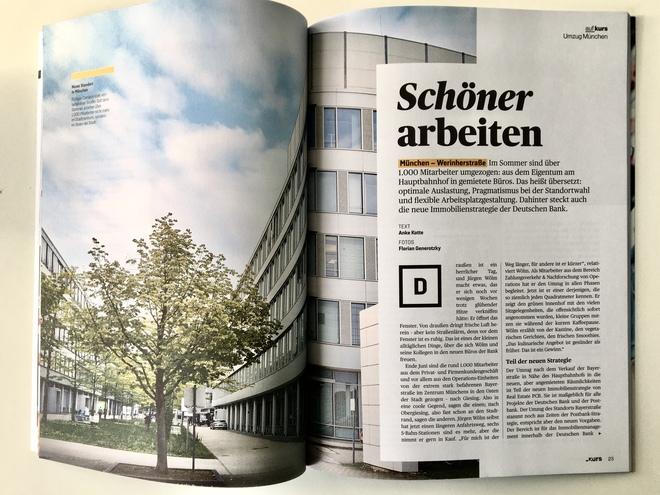 _KURS | Mitarbeitermagazin für Deutsche Bank und Postbank