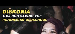 Diskoria-- A DJ duo saving the Indonesian oldschool