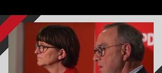 SPD Niedersachsen: Saskia Esken und Norbert Walter-Borjans in Springe