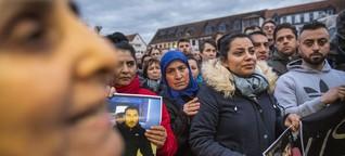 """Hanau: """"Ich habe gehofft, dass sein Name nicht fallen würde"""""""