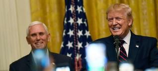 US-Vizepräsident Mike Pence: Der ewig Zweite hinter Trump