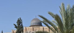 B.Z. am Brandherd des Nahost-Konflikts