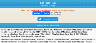 Isaimini Tamil Movies Download 2020 (Moviesda)