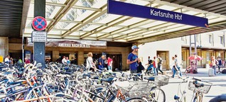 Karlsruhe will Auto-Parkhaus in der Innenstadt für Fahrräder umwidmen
