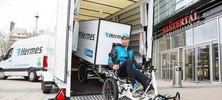 Logistik : Wie Start-ups den städtischen Lieferverkehr aufs E-Bike verlagern wollen