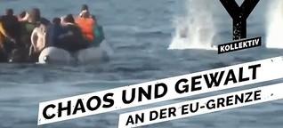 Flüchtlinge auf Lesbos - Eskalation an der EU-Grenze