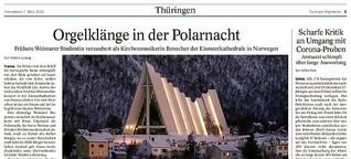Orgelklänge in der Polarnacht