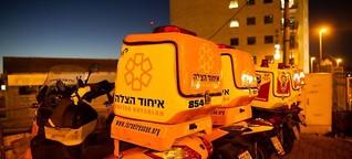 Nahost-Konflikt: Freiwillige Retter überwinden Grenzen
