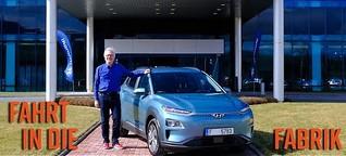 Hyundai Kona Elektro läuft erstmals in Europa vom Band