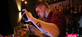 Hinter der Theke: Wie Barkeeper Dominik im Großen Gatsby Cocktails entwirft