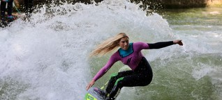 Die Frau mit dem Wellenblick