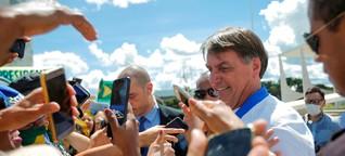 Jair Bolsonaro: Die Seuche kommt, der Präsident reißt Witzchen