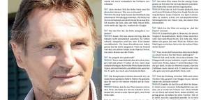 Liam Neeson über Kampf und Choreografie