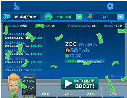 Crypto Idle Miner – Bitcoin Tycoon – App for Android and iPhone