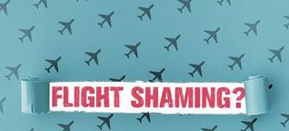 Steigende Flugzahlen: Sind wir schamlos?