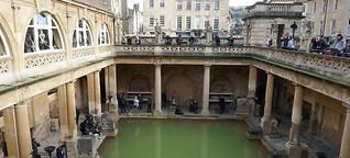 Buhlen, baden und bummeln in Bath
