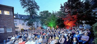 Hagen: Open-Air-Kino auf Pelmke-Innenhof hat Flair