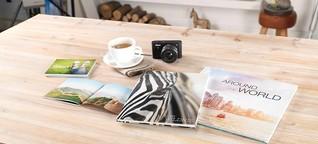 Reiseerinnerung: So erstellen Sie online ein Urlaubs-Fotoalbum