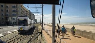 Die belgische Kusttram - Die längste Straßenbahnlinie der Welt