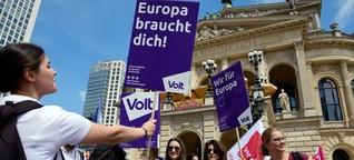 """""""Wahl-O-Mat""""-Verbot: Wer sind Volt, die bei der Europawahl 2019 antreten?"""