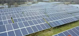 Ende der Solarförderung : Klappt's noch mit der Energiewende?