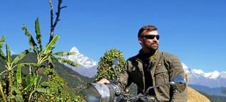 Wegen Corona: Motorrad-Guide aus Essen festgefahren in Nepal