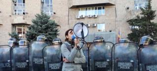 """""""Frauen müssen ungehorsam sein"""" - Interview mit der armenischen Feministin Anna Nikoghosyan"""