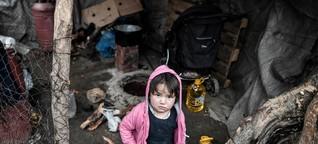 """Flüchtlinge auf Lesbos: """"Hier besteht jede Art von Gefahr"""""""