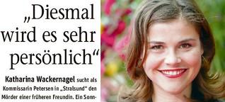 """Katharina Wackernagel ermittelt gerne in """"Stralsund"""""""
