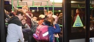 Schulbusse: Geringes Risiko, große Emotionen
