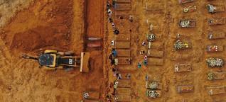 Corona-Pandemie in Brasilien: bereits über 16.000 Tote